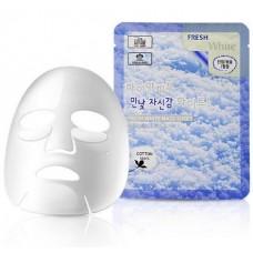 Тканевая маска осветляющая 3W Clinic Fresh Mask Sheet (23 мл) White