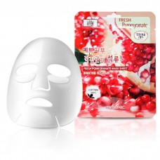 Тканевая маска с гранатом 3W Clinic Fresh Mask Sheet (23 мл) Pomergranate
